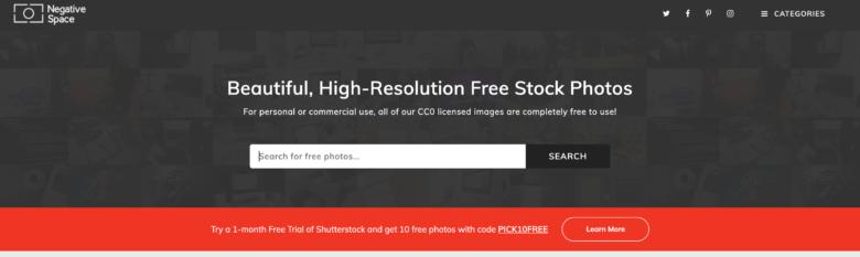 ブログに使えるフリー画像サイト